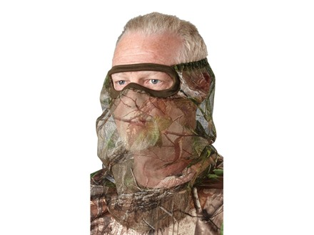 Hunter's Specialties Flex Form 2 Mesh 3/4 Face Mask Polyester
