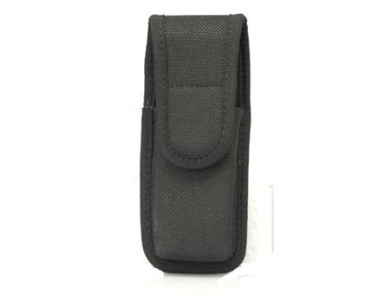 Bianchi 7303 Single Magazine Pouch or Knife Sheath Full Size Double Stack 45 ACP Nylon Black