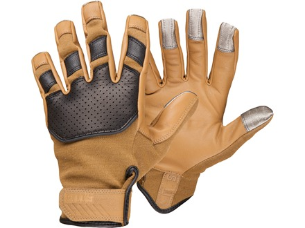 5.11 Tac-NF02 Gloves Nomex and Goatskin Large Coyote