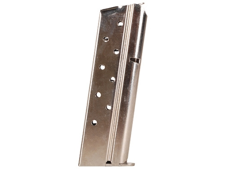 Colt Magazine 1911 Government, Commander 38 Super 9-Round Steel Nickel Plated