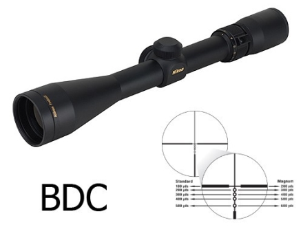 Nikon Prostaff Rifle Scope 3-9x 40mm BDC Reticle Matte