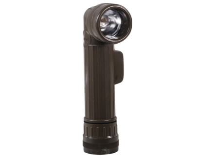 5ive Star Gear Mil-Spec Flashlight Anglehead Requires 2 D Batteries Polymer Olive Drab