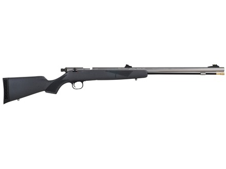 Knight Littlehorn Muzzeloading Rifle 50 Caliber Stainless Steel Barrel Synthetic Stock