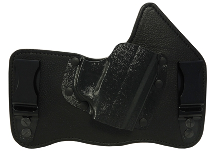 Galco King Tuk Tuckable Inside the Waistband Holster Right Hand Ruger LC9 Leather and Kydex Black