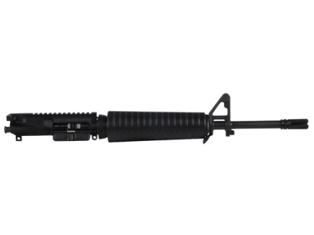 "Noveske AR-15 Light Recce Basic A3 Flat-Top Upper Assembly 5.56x45mm NATO 1 in 7"" Twist 16"" Barrel Chrome Lined CM Matte with Mid Length A2 Handguard, AAC Blackout Flash Hider"