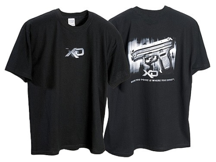 "Springfield Armory XD T-Shirt Short Sleeve Cotton Black XL (48"")"