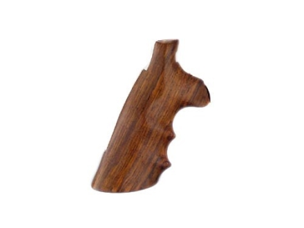 Hogue Fancy Hardwood Grips with Finger Grooves Colt Anaconda, King Cobra