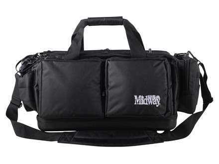 MidwayUSA Pro Series Range Bag PVC Coated Polyester Black