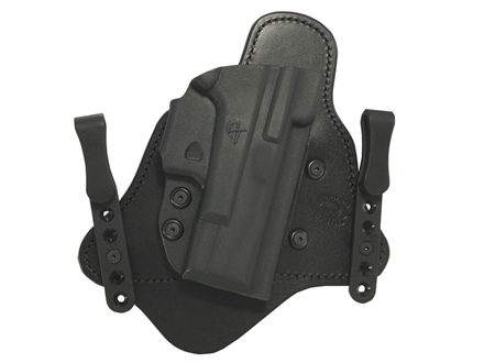 "Comp-Tac Minotaur MTAC Inside the Waistband Holster 1911 3"" Officer Kydex and Leather"