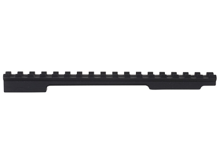 EGW 1-Piece Picatinny-Style 20 MOA Elevated Base Howa, Weatherby Vanguard Matte Long Action