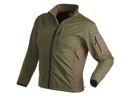 Browning Black Label Tracer Soft Shell Jacket Forest and Desert Large