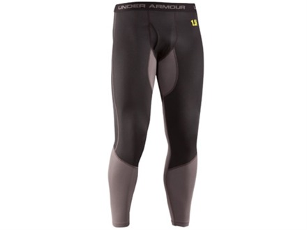 Under Armour Men's Base Map 1.5 Base Layer Pants Polyester Black XL 38-40