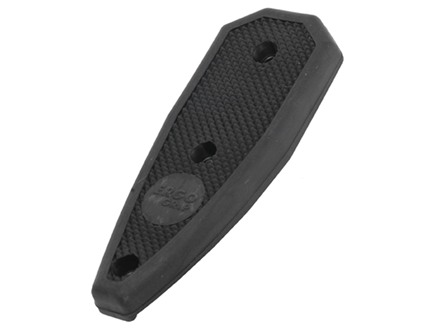 ERGO F93 PRO Stock Rubber Buttpad Black