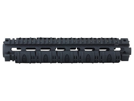 UTG Free Float Tube Handguard Quad Rail AR-15 Mid-Length Matte