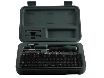 Weaver 77-Piece Multi Bit Gunsmithing Screwdriver Tool Kit