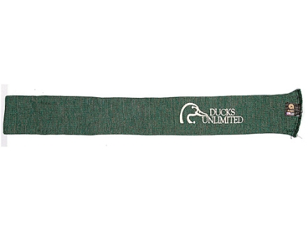 "Ducks Unlimited Rifle and Shotgun Gun Sock Silicone-Treated Polyester 52"" Green"