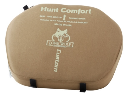 Lone Wolf Hunt Comfort Treestand Seat Cushion Foam Coyote Tan