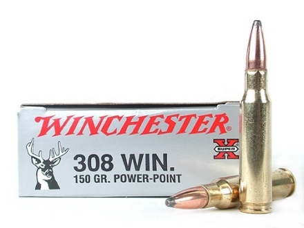 winchester super x ammo 308 winchester 150 grain power point. Black Bedroom Furniture Sets. Home Design Ideas
