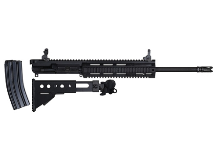"Para Ordnance AR-15 Tactical Target Rifle Upper Assembly 5.56x45mm NATO 1 in 9"" Twist 16.5"" Barrel Chrome Lined Matte Full Rail Aluminum Handguard, Side Folding Buttstock"