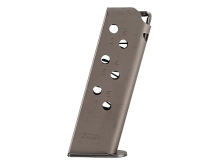 Walther Magazine Walther PPK 32 ACP 7-Round Steel Nickel Plated