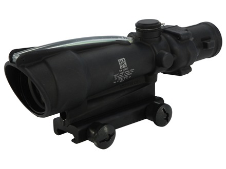 Trijicon ACOG TA11 BAC Rifle Scope 3.5x 35mm Dual-Illuminated with TA51 Flattop Mount Matte