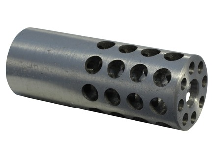"Vais Muzzle Brake 3/4"" 257 Caliber 1/2""-32 Thread .750"" Outside Diameter x 1.950"" Length"