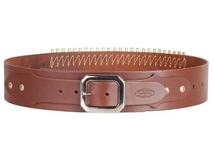 Hunter Adjustable Cartridge Belt 22 Caliber Leather