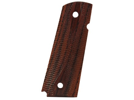 Chip McCormick Grips 1911 Government, Commander Slim Line Checkered Rosewood