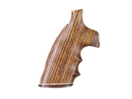 Hogue Fancy Hardwood Grips with Accent Stripe, Finger Grooves and Contrasting Butt Cap Colt Trooper Mark III Cocobolo
