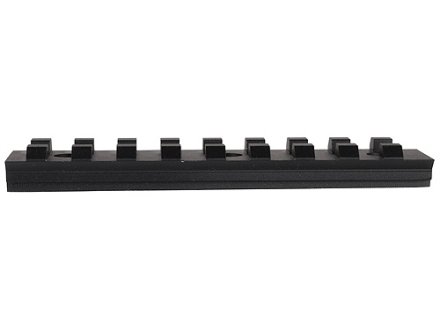 "Advanced Technology Picatinny Rail 4"" Length 12 O'Clock Fits ATI Strikeforce Handguard for AK-47, AK-74 Aluminum Black"