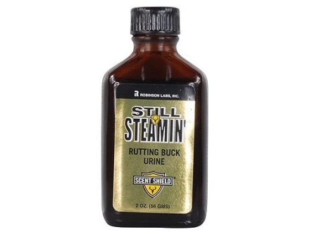 Still Steamin' Rutting Buck Urine Deer Scent Liquid 2 oz