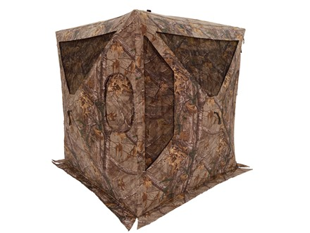 "Browning Phantom PC Ground Blind 59"" x 59"" x 70"" Poly-Cotton Realtree Xtra Camo"