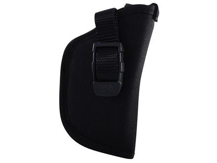 GrovTec GT Belt Holster Right Hand with Thumb Break Size 10 for Small Rimfire and 25 ACP Semi-Automatics Nylon Black