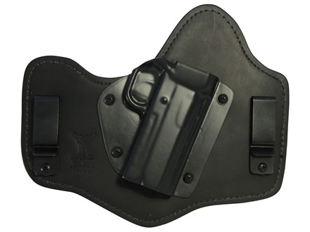 Blade-Tech Hybrid Tuckable Inside the Waistband Holster Right Hand 1911 Leather and Kydex Black