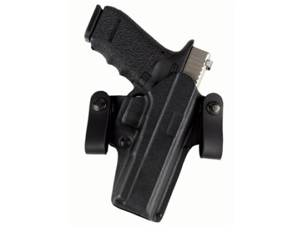 Galco DOUBLE TIME Convertible Belt and Inside the Waistband Holster Right Hand Smith & Wesson M&P 9,40 Kydex Black