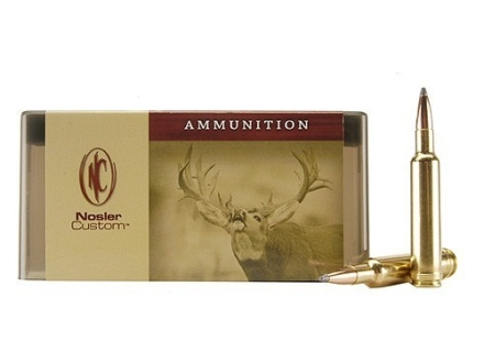 Nosler Custom Ammunition 7mm Weatherby Magnum 150 Grain Partition Spitzer Box of 20