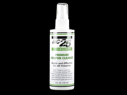 Mil-Comm MC25 Bore Cleaning Solvent 4 oz Liquid