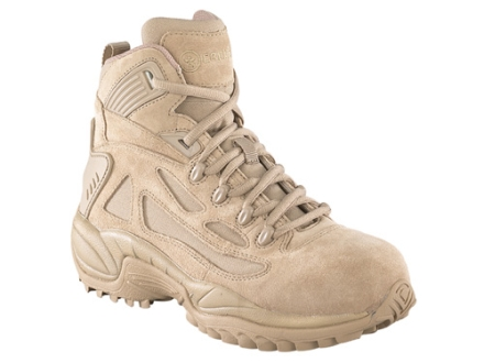 "Converse Rapid Response 6"" Tactical Boots Suede and Ballistic Nylon Side Zip Uninsulated Desert Tan Men's 8.5 M"