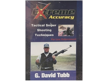 "Gun Video ""Extreme Accuracy: Tactical Sniper Shooting Techniques for Law Enforcement with G. David Tubb"" DVD"