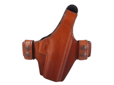 Bianchi Allusion Series 130 Classified Outside the Waistband Holster Right Hand Glock 17, 22, 31 Leather Tan