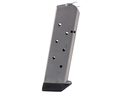 Chip McCormick Shooting Star Magazine with Base Pad 1911 Government, Commander 45 ACP 8-Round Stainless Steel