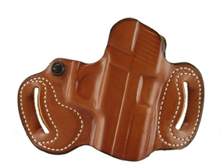DeSantis Mini Slide Belt Holster Right Hand Sig Sauer P220, P225, P226, P228 Taurus PT24/7 Leather Tan