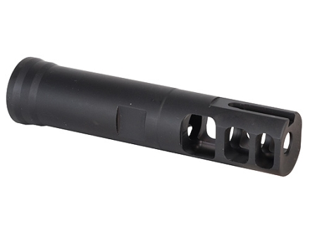 "Surefire Muzzle Brake-Adapter Rifles With 3/4""-24 Thread .890"" Max. Barrel Diameter Steel Matte"