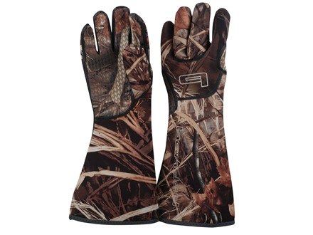 Banded Neoprene Decoy Gloves Realtree Max-4 Camo Large
