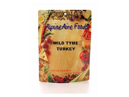 AlpineAire Wild Thyme Turkey Freeze Dried Food 2 Servings