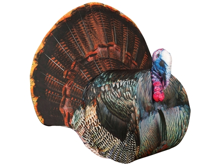 Montana Decoy Papa Strut 3D Tom Turkey Decoy Cotton, Polyester, and Steel