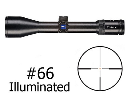 Zeiss Diavari VM/V Rifle Scope 30mm Tube 2.5-10x 50mm First Focal Illuminated #66 Reticle Matte