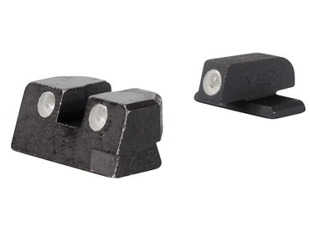 Meprolight Tru-Dot Sight Set Springfield XD 45 ACP Steel Blue Tritium Green Front Orange Rear