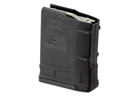 Magpul PMAG LR/SR Gen M3 Magazine LR-308, GII, SR-25 308 Winchester Polymer Black