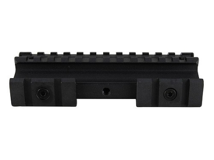 NcStar Tri-Mount Weaver-Style Conversion with Adjustable Side Tabs AR-15 Flat-Top Matte